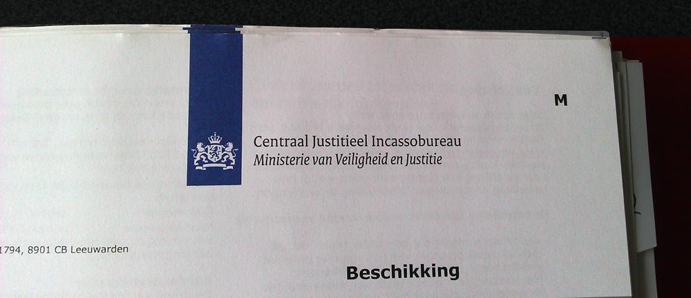 contact centraal justitieel incassobureau
